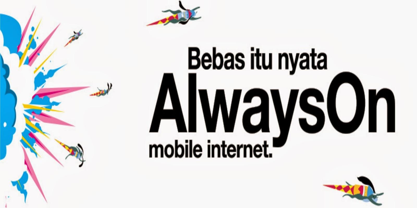 Cara Daftar Paket Internet 3 AON Unlimited
