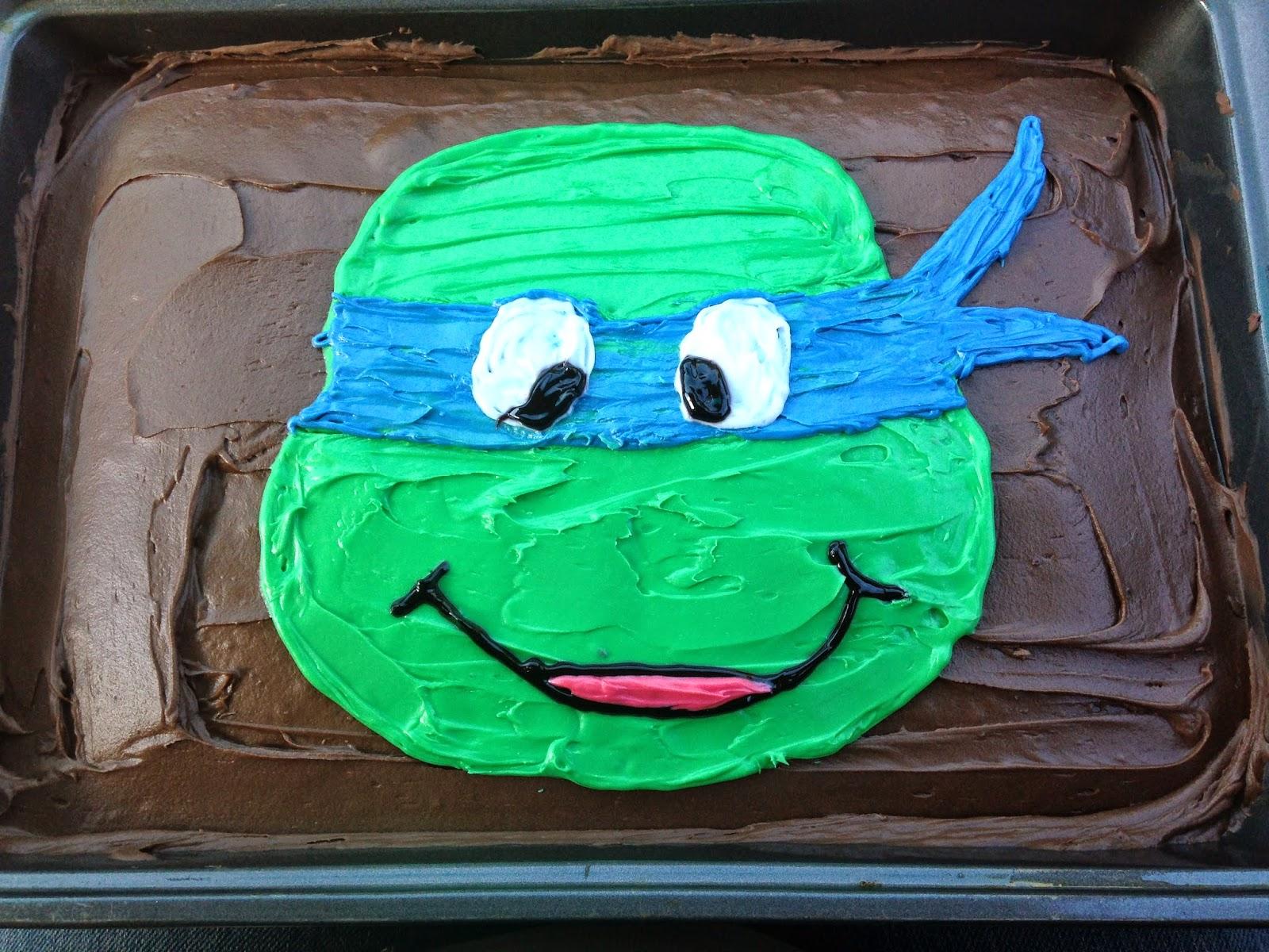 The Demoor Family Carsons Ninja Turtle Birthday Party