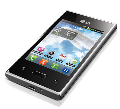 lg optimus display l3 e400