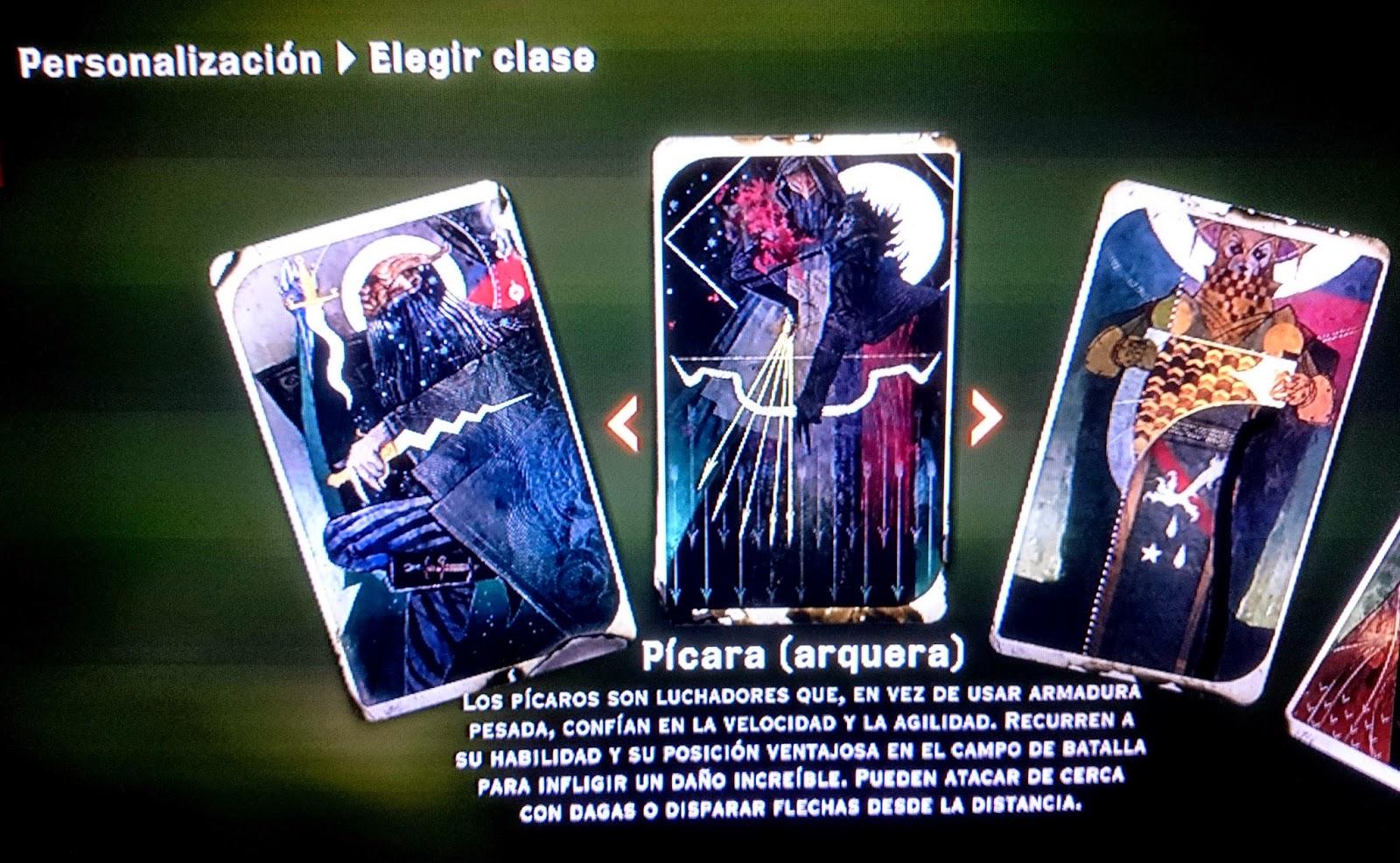 demo dragon age inquisition clase