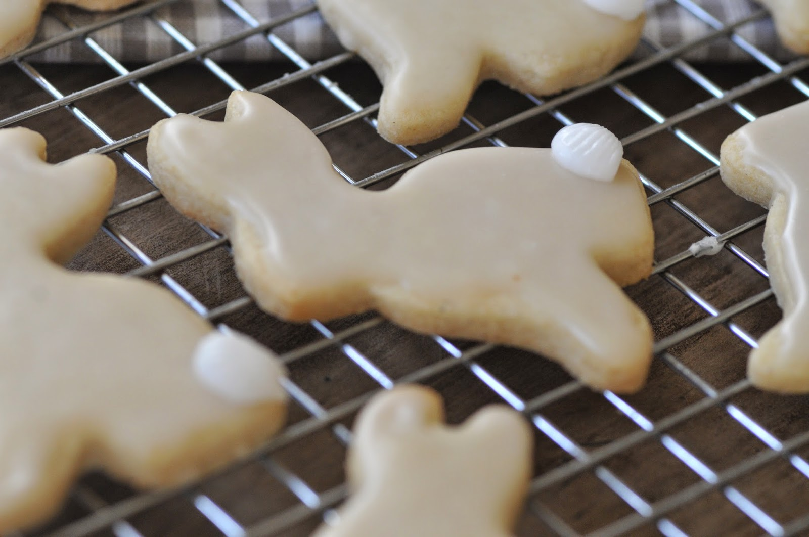 Recipe vanilla glaze for cookies