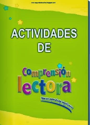 2º Primaria.Actividades de comprensión lectora