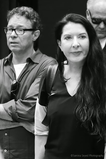 Marina Abramovic and Marco Brambilla