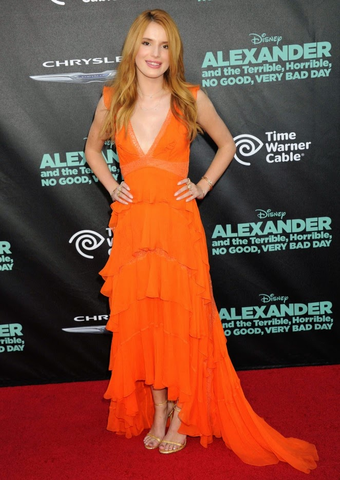 Bella Thorne: Alexander And The Terrible Horrible No Good Very Bad Day Premiere
