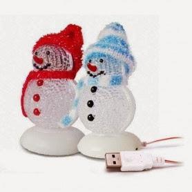Muñeco de Nieve USB