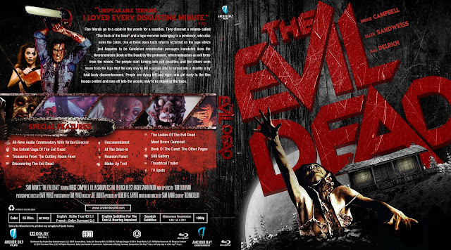 Capa Bluray The Evil Dead