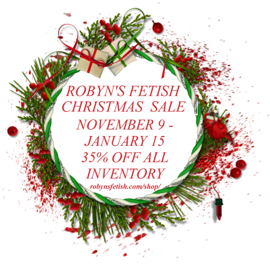 Robyn's Fetish Christmas Sale