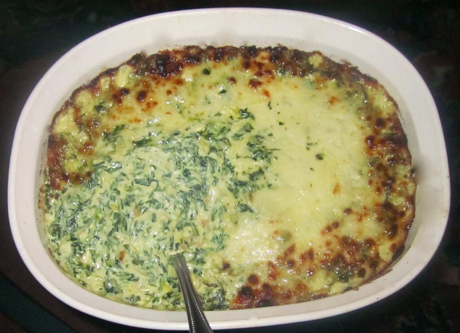 Haute + Heirloom: Crazy-Good Spinach-Artichoke Dip