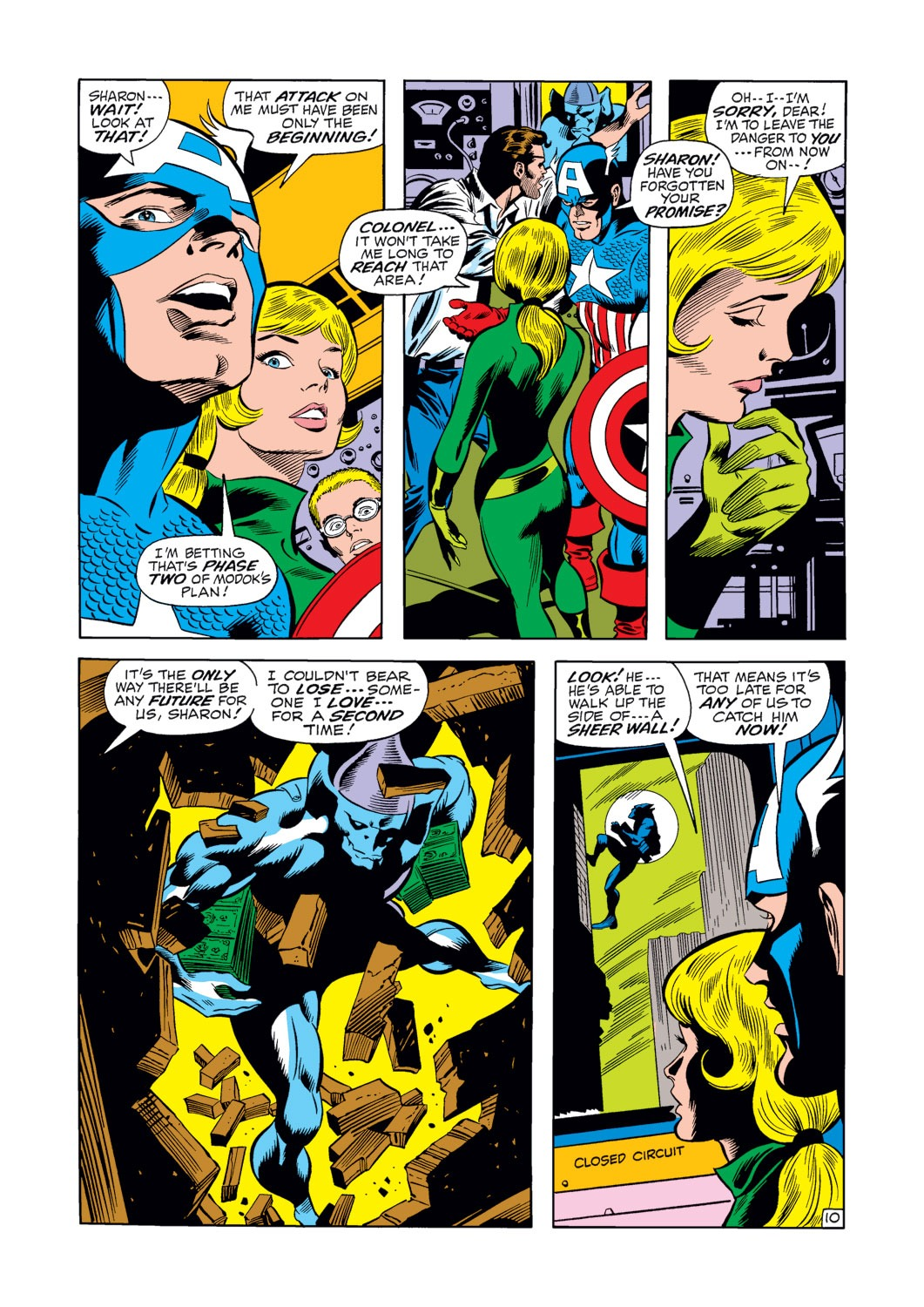 Captain America (1968) Issue #124 #38 - English 11