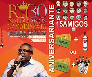 SHOW REINALDO NO  SAMBA DO CECAP