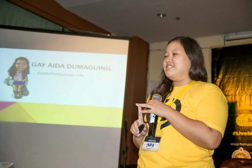 Gay Aida Dumaguing of BloggersTech.com at the Cebu Blogging SUmmit 2014
