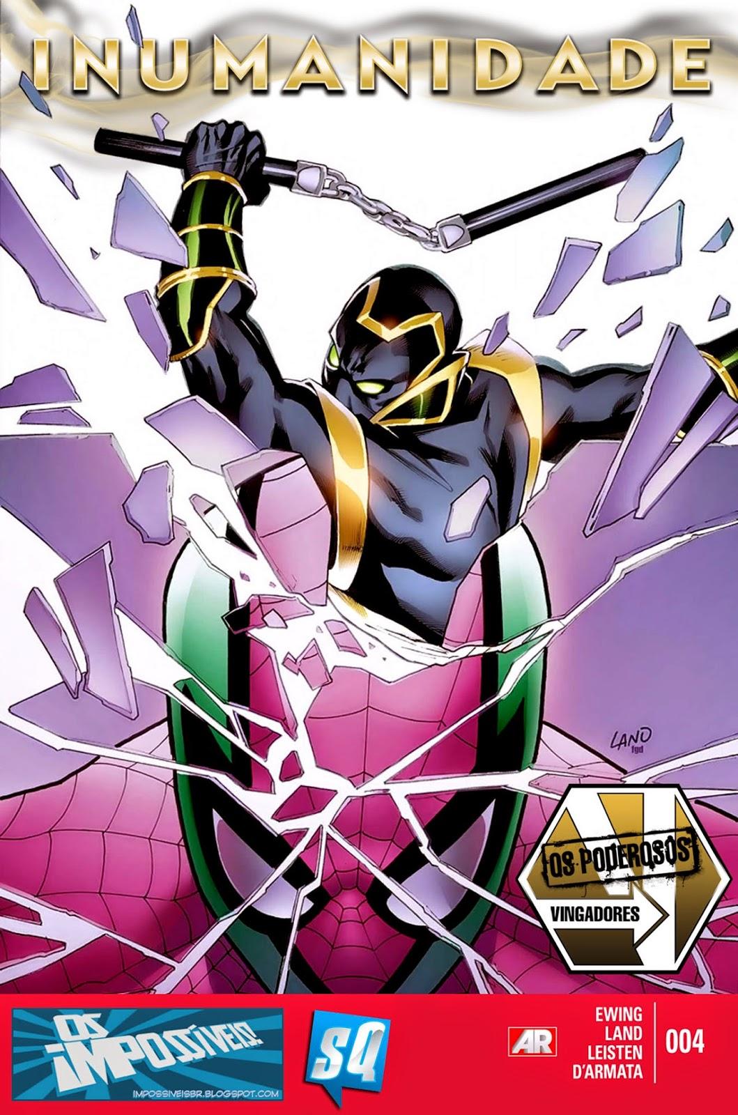 Nova Marvel! Os Poderosos Vingadores #4