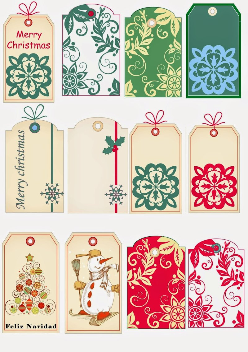 Unas etiquetas muy navide as para poner los regalos a n - Regalos bonitos para navidad ...