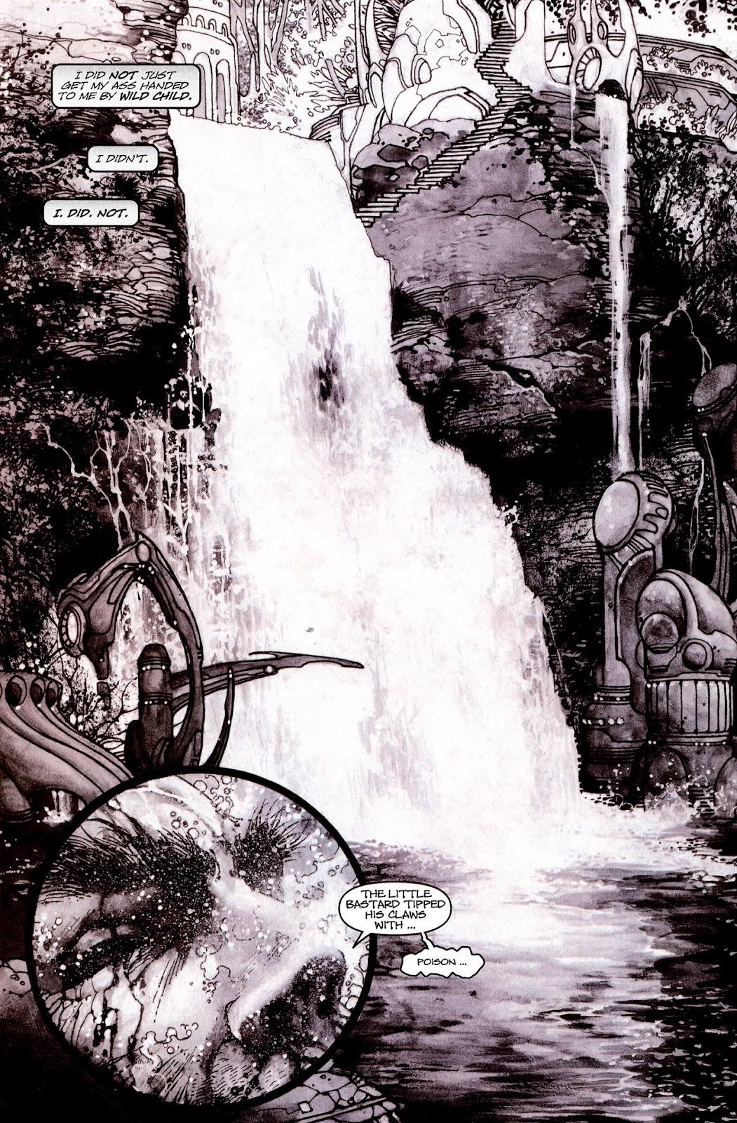Read online Wolverine (2003) comic -  Issue #53 - 17