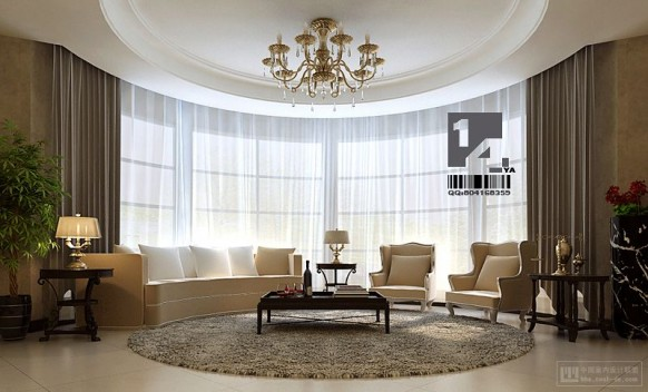 Happy New Year 2012 With Modern And Clasic Chinese Interior Design