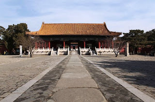 Tempat Wisata di Beijing - The Ming Dynasty Tombs (Makam Kaisar Dinasti Ming) Beijing China