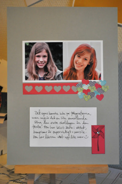 My life perfectly imperfect: Re-scrap 2012 | July - the pages