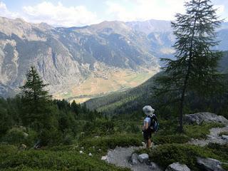 View towards Ceillac