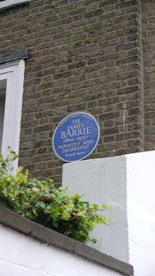 James M Barrie's London Residence, London