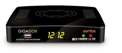 gigabox - GIGABOX SAMBA (V 4.27) ATUALIZAÇÃO ON PARA QUEM USA 22W SES4 Samba
