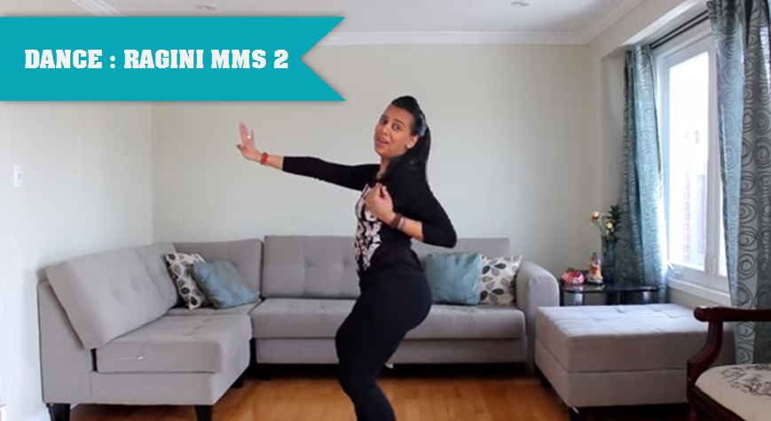 NALINI DANCES AT HOME FOR RAGINI MMS 2 SONG YEH DUNIYA
