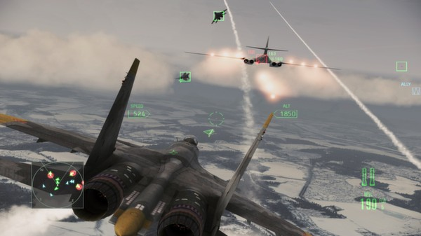 Ace Combat Assault Horizon: Enhanced HD Wallpaper