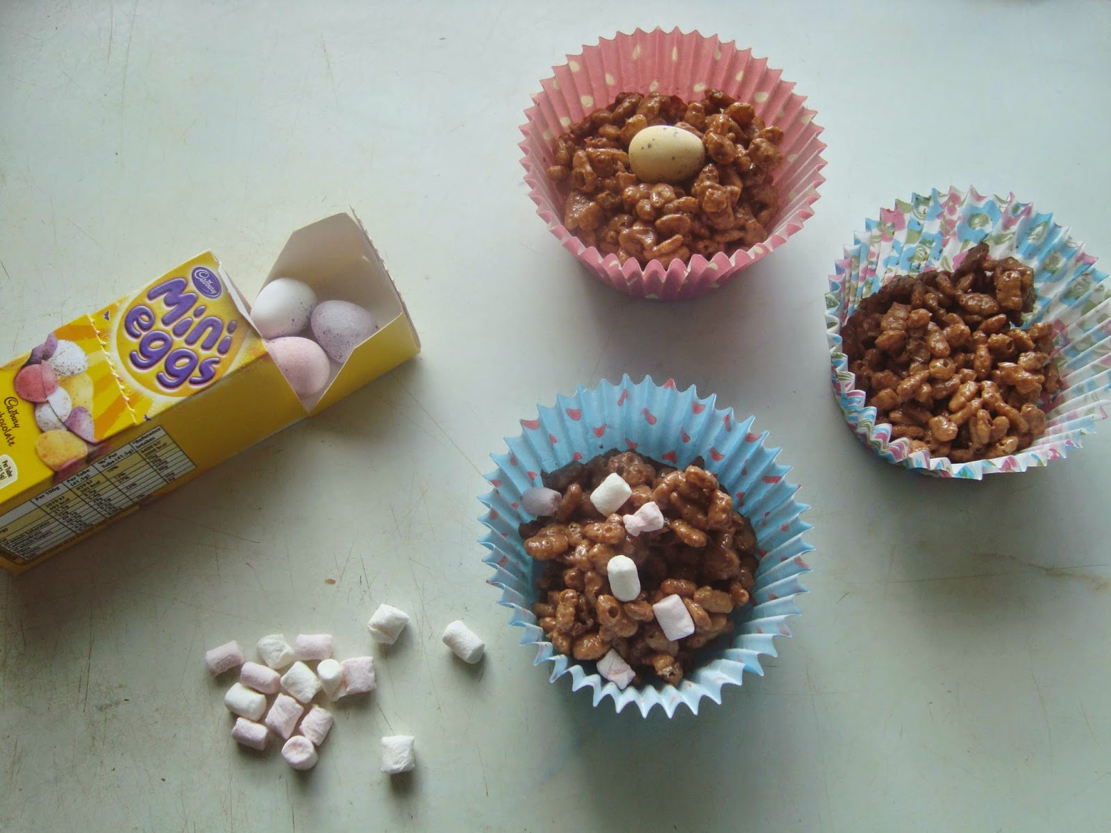 How Do U Make Rice Krispie Cakes