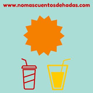 bebidas refrescantes bebé verano