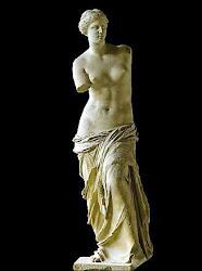 Yo sueño que abrazo a la Venus de Milo sin brazos