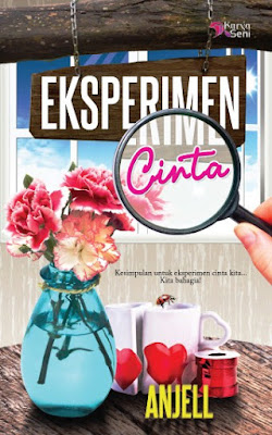cover novel eksperimen cinta