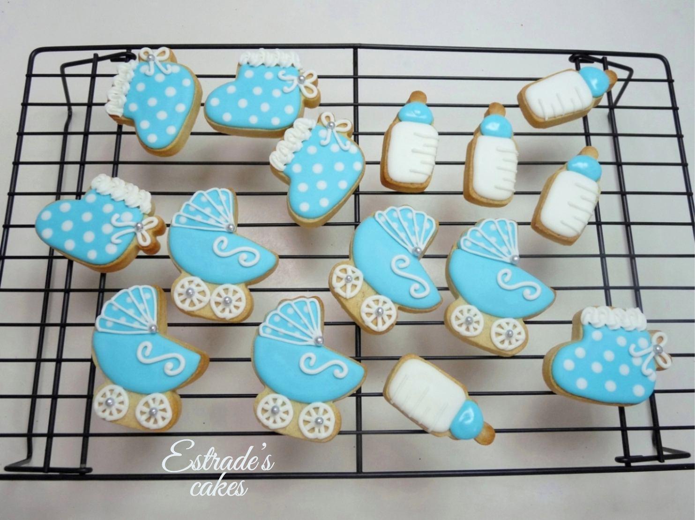 galletas para bautizo decoradas con glasa - 2