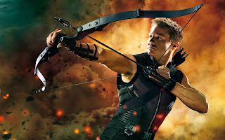 The Avengers Hawkeye Jeremy Renner HD Wallpaper