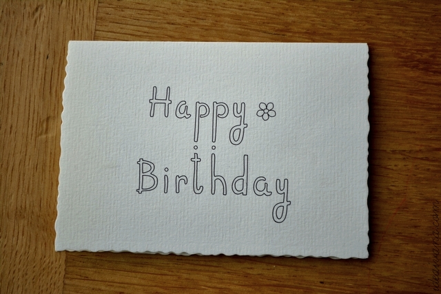 idea ivana handdrawn happy birthday card {free printable}, Birthday card