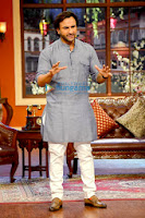 Saif Alikhan promotes 'Bullett Raja' on Comedy Nights with Kapil