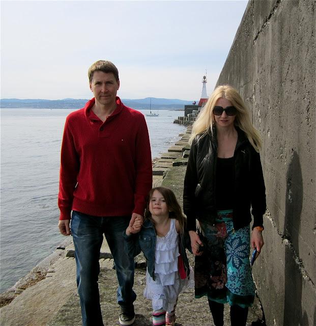 China Town and Sea Wall, Victoria, BC