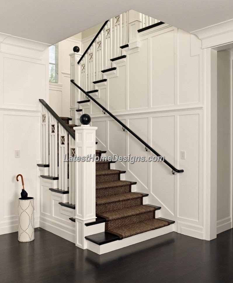 Simple duplex house interior designs crowdbuild for for Interior staircase designs india