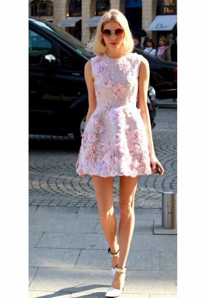 Trend report: aplicações de flores em 3D são hit em Londres-flores 3d moda- moda primavera verão-moda primavera verão 2015-moda feminina primavera verão 2014-modas-moda primavera verão 2014 feminina-moda primavera verão 2015 feminina