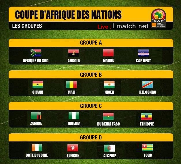 Lmatch 2013 coupe d 39 afrique can results - Coupe d afrique streaming live ...