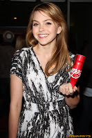 Aimee Teegarden Coca-Cola 125th Anniversary Celebration at Kitson on Roberston