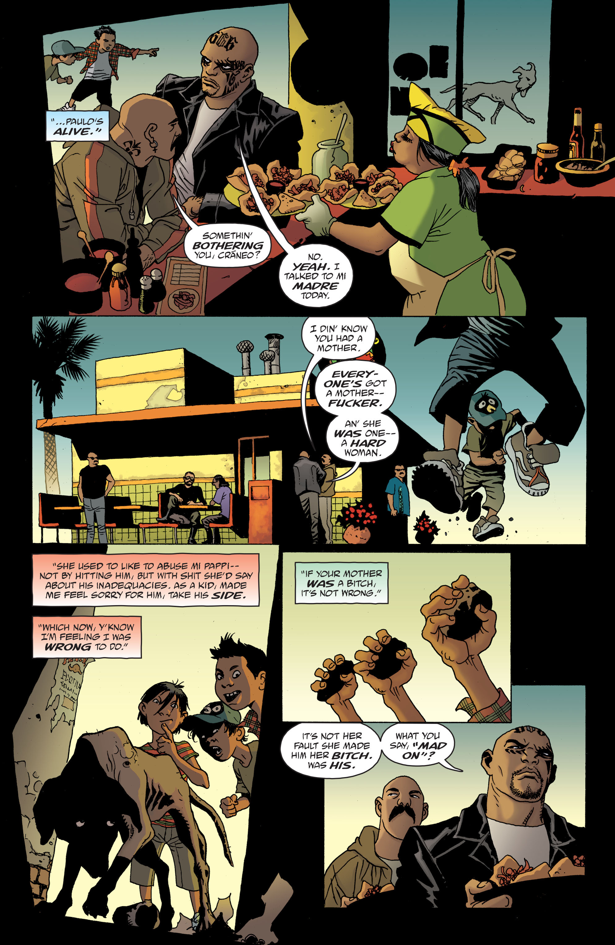 100 Bullets: Brother Lono Full Page 88