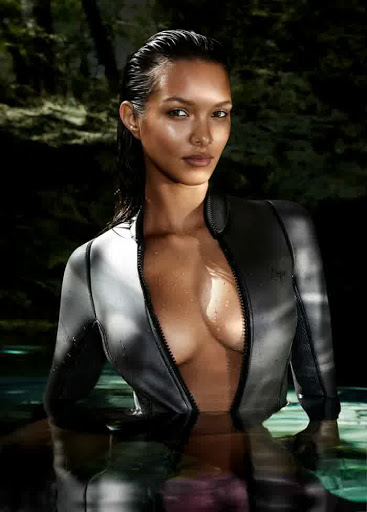 Lais Ribeiro sexy bikini swimwear photo shoot for GQ magazine Brazil May 2015