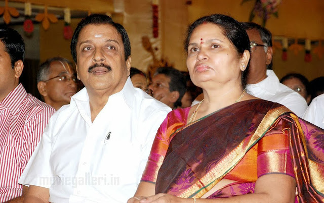 Karthik's father and mother