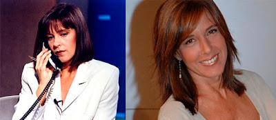 La presentadora lleva 20 años al frente de los Telediarios