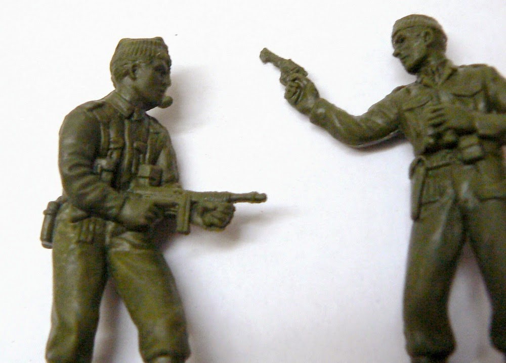 набор солдатиков литники