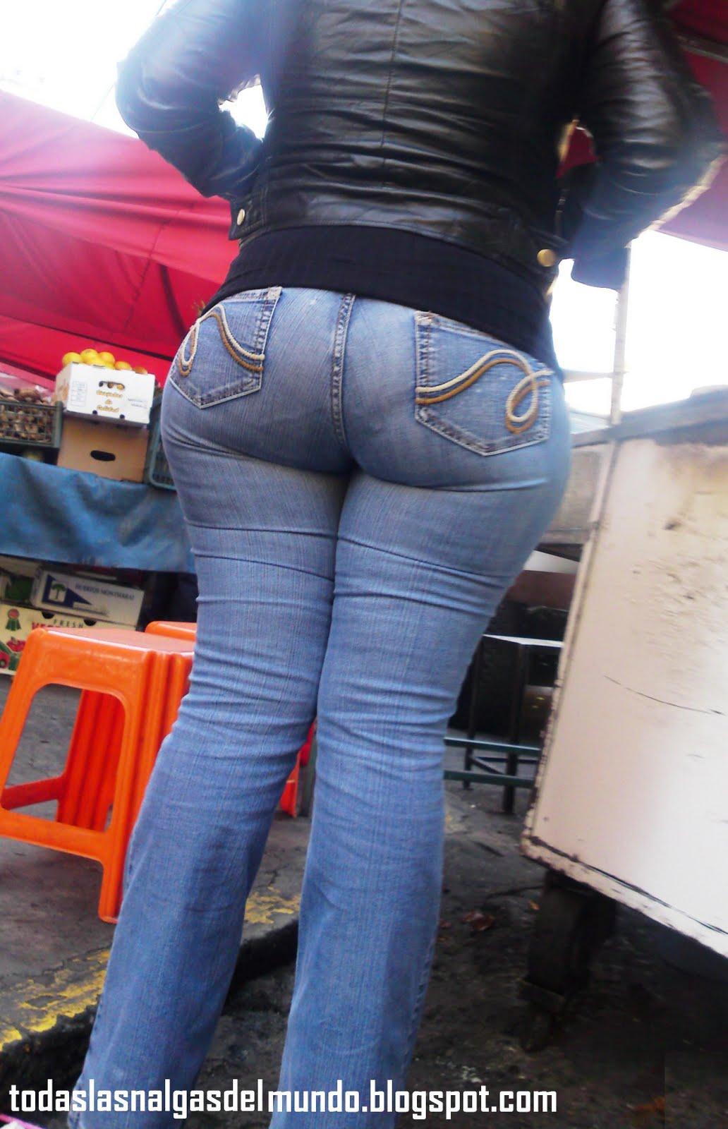 Nalgona En Jeans | newhairstylesformen2014.com