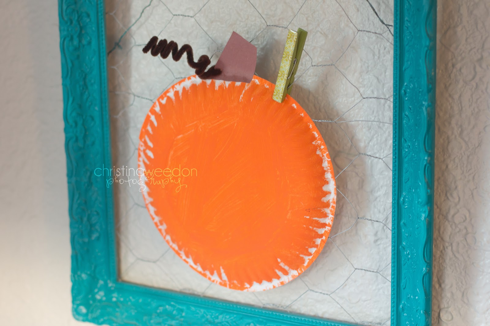 Homeschool P is for Pumpkin Paper Plate Craft for Autumn & Dandelions on the Wall: Homeschool: P is for Pumpkin Paper Plate ...