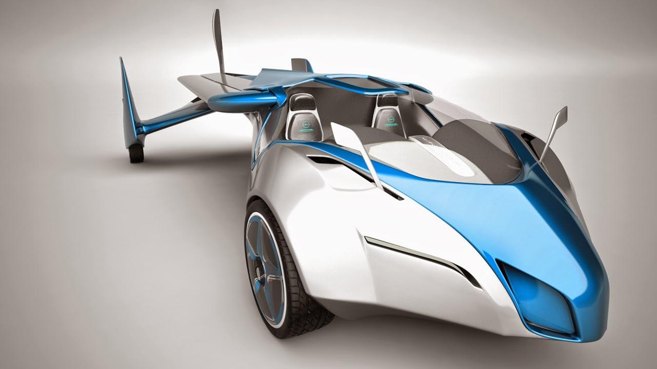 بالفيديو شاهذ السيارة الطائرة AeroMobil 3.0