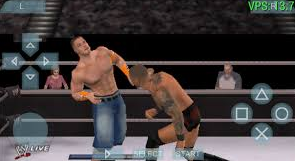 SMACKDOWN VS RAW 2014 Game PSP High Compress