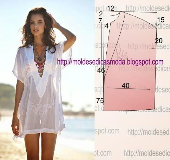 Платье для пляжа своими руками выкройки фото 39