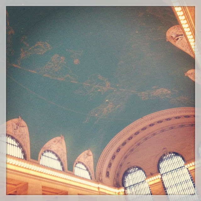 Mommy Testers #LoveThisCity #cbias Grand Central Station Ceiling